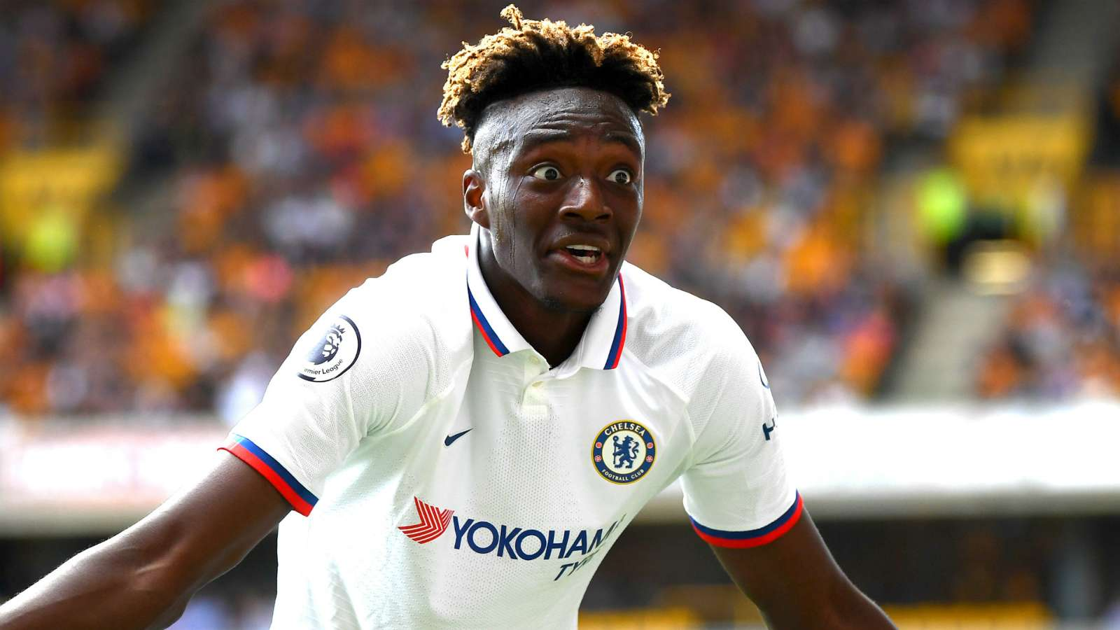 Abraham scored a hattrick in Chelsea's 5-2 victory at Wolves on Saturday. (PHOTO/Courtesy)