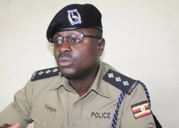 Luke Owoyesigyire, Deputy Spokesperson Kampala Metropolitan Police (PHOTO/Courtesy)