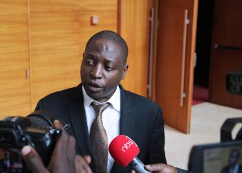 Minister of State for Planning David Bahati