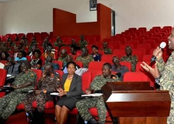 Gen Muhoozi applauded the UPDF for being a patriotic, pan-Africanist army always ready to uphold democratic principles and one that can forge mechanisms aimed at improving peoples' welfare. (PHOTO/Courtesy)