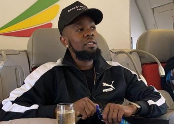 Nigeria's Patoranking jetting in to Kampala on Thursday evening