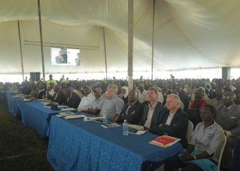 Dignitaries who attended the hearings at Kakumiro. David Mafabi