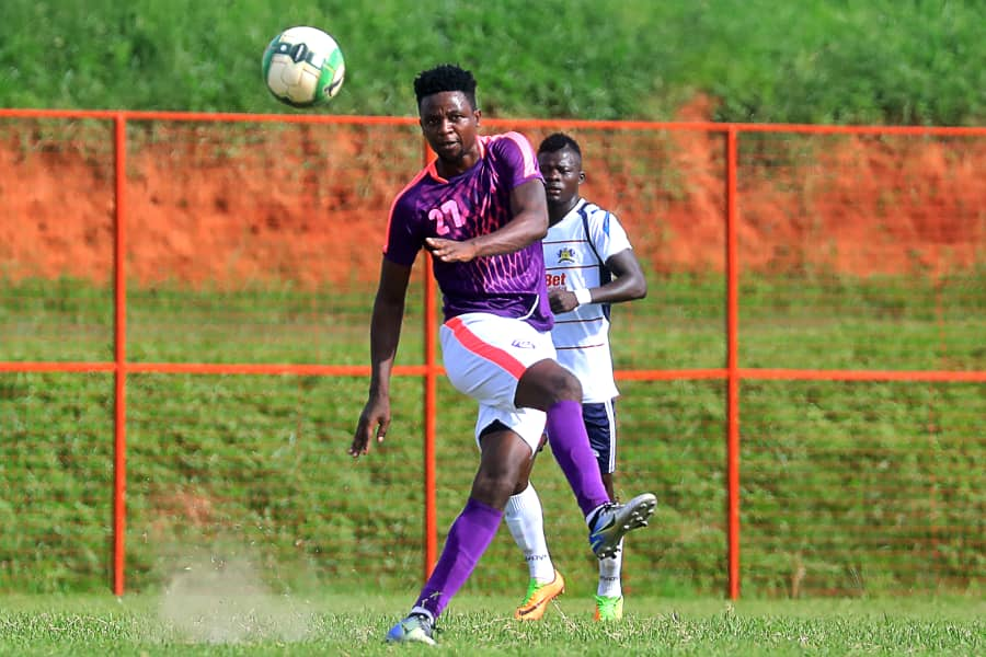 Ntambi (21) is one of the two players included in the Cranes team to take on Ethiopia on Sunday. (PHOTO/Courtesy)
