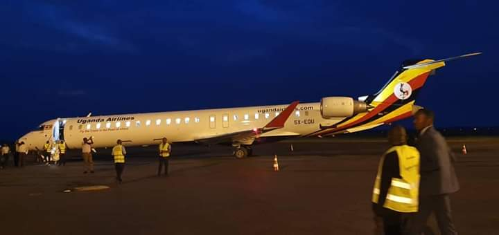 Two more aircraft are expected in Uganda on Monday 7th. (PHOTO/Courtesy)