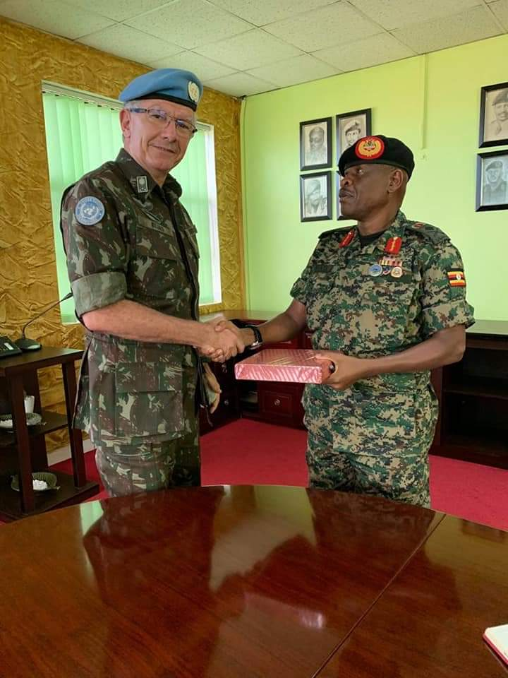 Deputy CDF Mbadi has met MONUSCO force commander over DRC violence. (PHOTO/Courtesy)