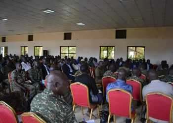 UPDF has started mobilization and documentation of crime preventers in Greater North. (PHOTO/Courtesy)