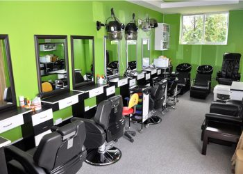 A beauty salon or beauty parlor, or sometimes beauty shop, is an establishment dealing with cosmetic treatments for men and women. Other variations of this type of business include hair salons and spas.