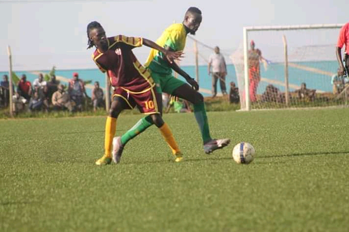 Action between Bul and Maroons FC on Tuesday. (PHOTO/Courtesy)