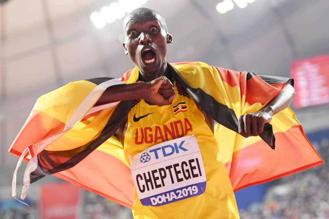 Joshua Cheptegei won three major races this year. (PHOTO/File)