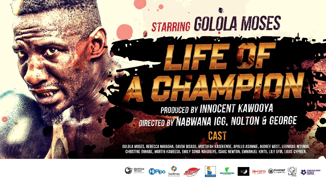 Starring Golola Moses, Life of a Champion movie premieres this November. (PHOTO/Courtesy)