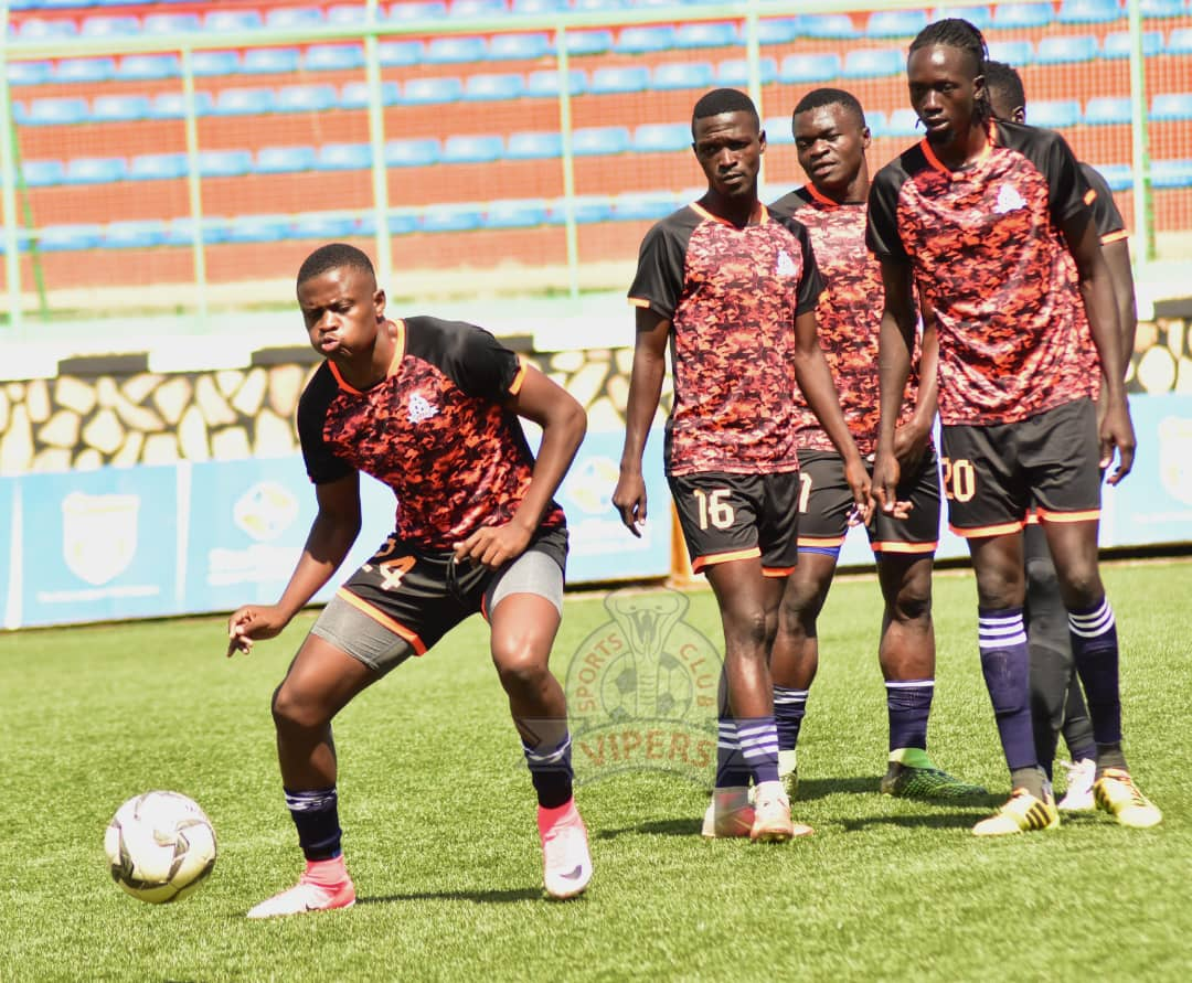 Vipers SC are the only side not to lose a game this season. (PHOTO/Vipers SC)
