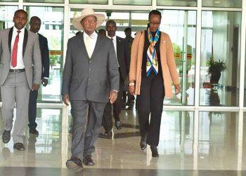 Mr. Museveni in a company of his daughter Diana Museveni has led a Ugandan delegation to Russia (PHOTO/PPU)