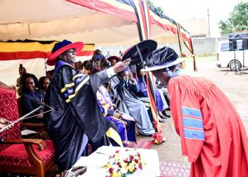 Speaker of Parliament Kadaga has been awarded a honorary doctorate. (PHOTO/PML Daily)