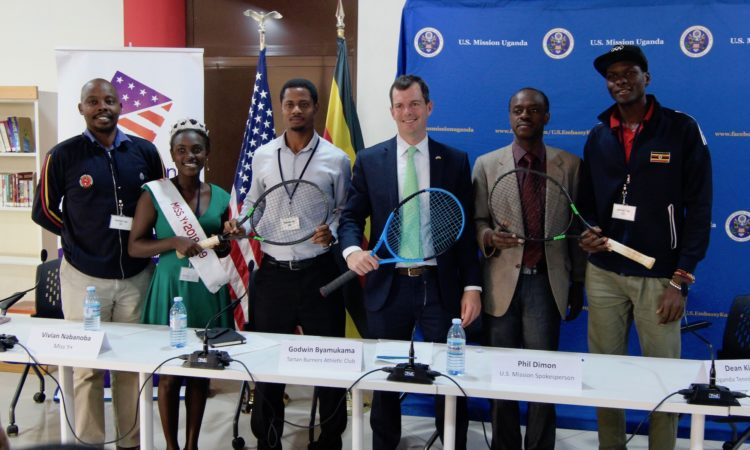 US Embassy has launched the Arthur Ashe tennis program in Uganda. (PHOTO/File)