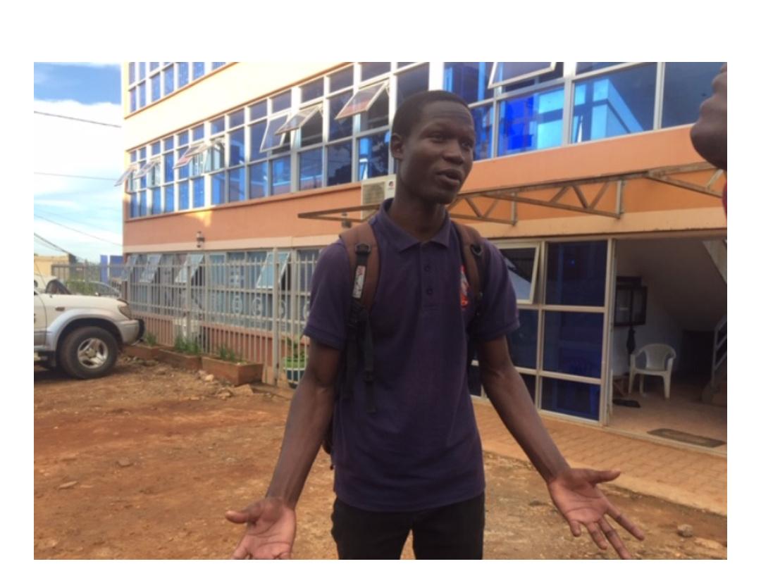 George William Eronda, the expelled Namilyango College student