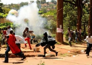 Makerere University students teargassed after engaging in a strike (PHOTO/File)