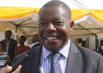 Rwampara MP Charles Ngabirano speaks to media at a function recently (PHOTO/File)