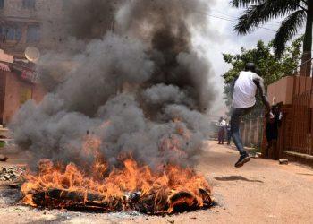 Makerere University protesters