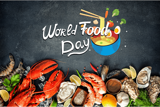 Founded in Canada by 42 countries back in 1945, World Food Day is celebrated around the 16 October every year since then to commemorate the founding of the Food and Agriculture Organization (FAO) of the United Nations.