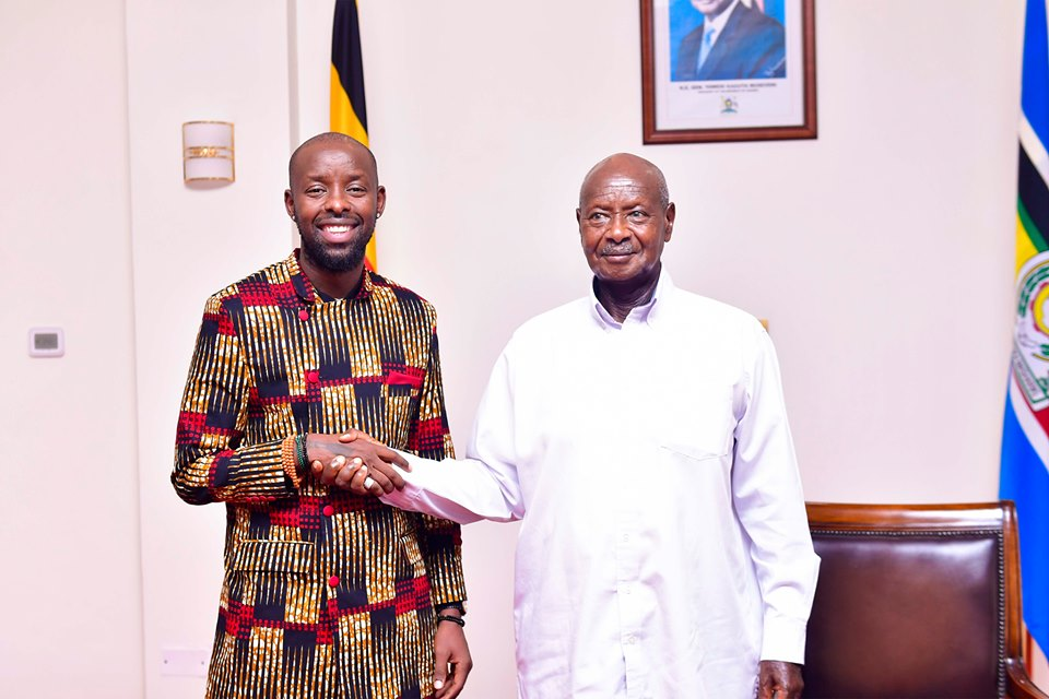 Image result for kenzo and museveni