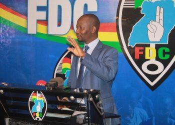 FDC spokesman Ibrahim Ssemujju Nganda