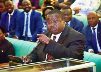 Minister of Justice and Constitutional Affairs, Maj Gen Kahinda Otafiire,