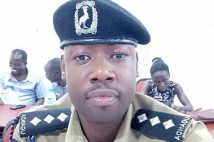 Assistant Superintendent of Police Ian Natukunda shot by south Sudan refugee. (PHOTO/Courtesy)