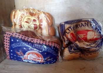 Some of the products of the closed bakery in Namugongo (PHOTO/Courtesy)