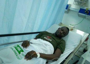 Mr Alex Esagala Photojournalist with Daily Monitor IHK hospital (PHOTO/Courtesy)