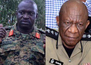 Commander of Land Forces, Lt. Gen Peter Elwelu,