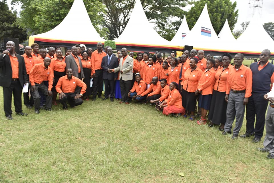 Vice President Edward Ssekandi in a group photo