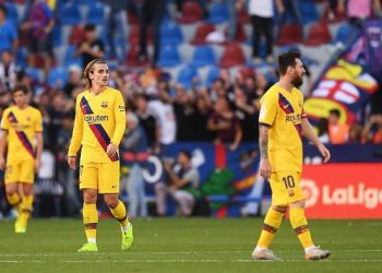 Barcelona have lost three games this season including their last fixture away to Levante. (PHOTOS/Courtesy)