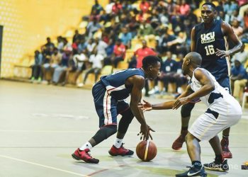 Action between UCU Canons and Betway Power on Sunday. (PHOTO/FUBA)