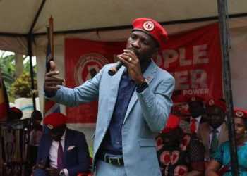 Bobi Wine has rejected UGX. 20M from Parliament for COVID-19 PHOTO/File)