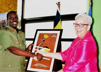 UPDF Chief of Defence Forces Gen David Muhoozi