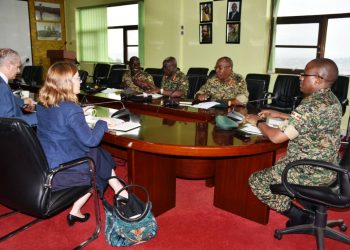 EU Applauds UPDF role in Somalia