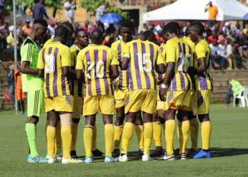 Proline FC eliminated Katwe United at the round of 64.(PHOTO/File)