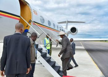 Mr. Museveni has left to neighboring Kenya to join work leaders at for the three-day global population summit (PHOTO/PPU).