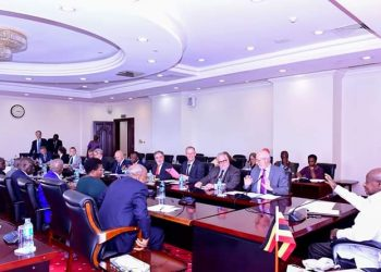 Mr Museveni met with European Delegation at State House (PHOTO/PPU)