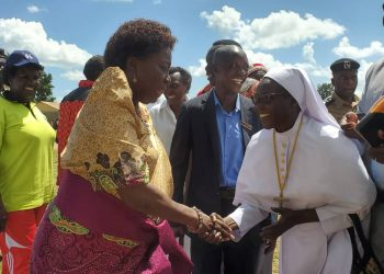 Missionary Sisters of Mary Mother of the Church have lauded Speaker Kadaga for supporting Religious causes (PHOTO/PML Daily)