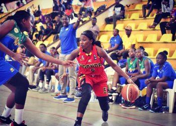 Imanishimwe (R) has represented Uganda at both 3×3 and 5×5 basketball. (PHOTO/Courtesy)