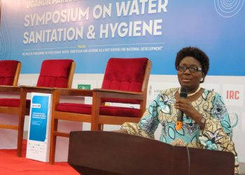 Speaker Kadaga says she's disgusted to learn that 85% of government health centres in Uganda do not have latrines agitating for their closure (PHOTO/PML Daily).