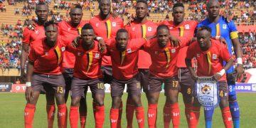 The Uganda Cranes starting XI against Malawi on Sunday (PHOTO/FUFA Media).