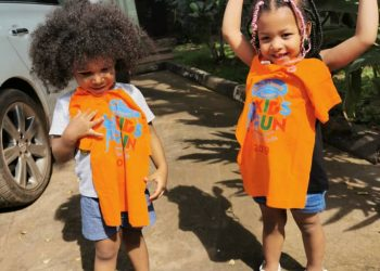 Dora Mwima's kids: Seraphin (L) & Giovanna (R) can't wait to have fun (PHOTO/Courtesy).