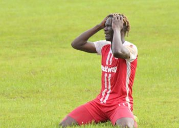 Frank Kalanda scored one of Express FC's two goals on Tuesday. (PHOTO/Express FC)