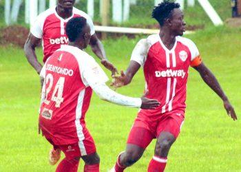 Ggaliwango (R) has now score five goals this season. (PHOTO/Courtesy)