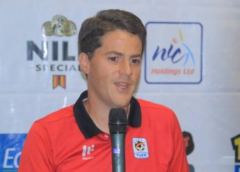Johnathan McKinstry will be in charge of the Cranes at CECAFA 2019. (PHOTO/File)