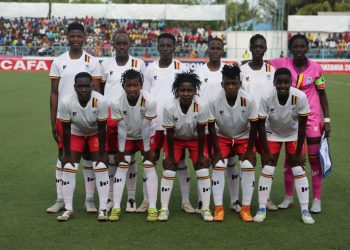 The Crested Cranes team that started against Djibouti on Sunday. (PHOTO/Courtesy)
