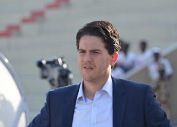 McKinstry was taking charge of his first home game as Uganda Cranes head coach on Sunday. (PHOTO/Courtesy)
