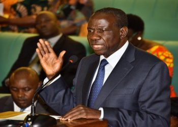 Finance Minister Matia Kasaija appearing brfore the House (PHOTO/File).